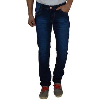 Men's Dark Blue Slim Fit Jeans