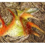 Affordable Art India Nature Abstract Canvas Art AEAT13c