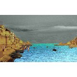 Affordable Art India Scenery Canvas Art AEBG1a