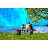 Affordable Art India Figurative Canvas Art AEFS19c