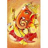 Affordable Art India Canvas Art Of Lord Ganesha AELG12c
