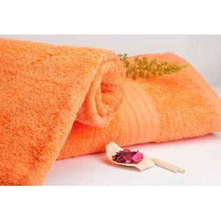 Eva Fusion Coral 450 Gsm 1 Bath Towel