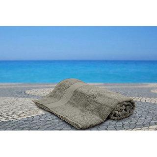 Grey Bliss Low Twist Bath Towel Bath Towel