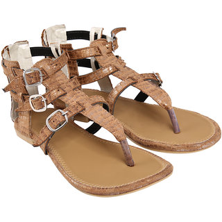 Jade Women's Brown Sandals