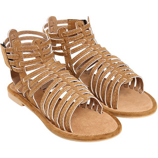 Jade Women's Khaki Sandals