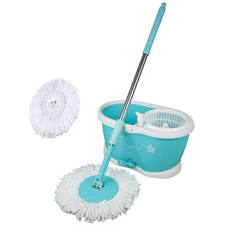 spin mop plusmagic mop set with 2 mop heads