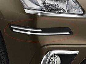 Car Corner Bumper Protector Guard Molding Black Universal for All Cars