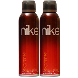 Nike Deodorants 2 Extreme for Men 200ml Each (Pack of 2)