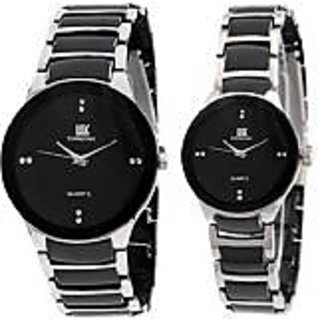 IIK Collection IIK Collections Model Designer Couple RV013 Analog Watch - For Couple, Men, Women, Boys, Girls