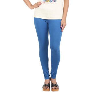 Color Candy Women's Blue Color Leggings