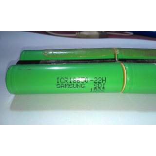 SAMSUNG 18650 3000Mah Rechargeable Battery 3.7V for DIY Battery