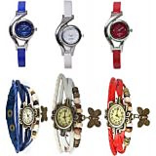 TRUE COLORS ALL in ONE SUPER HIT COMBO ALL TIME HOT SELLING Analog Watch - For Girls, Couple, Couple