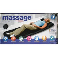 FULL BODY MASSAGER BED / MATTRESS WITH 9 MOTOR MASSAGE 9 SOOTHING HEAT