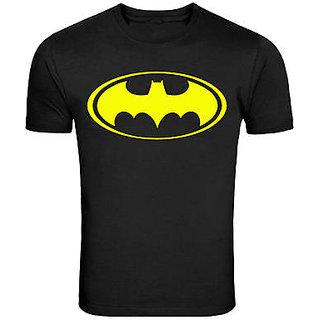 Batman logo round neck half sleeve unisex 100 cotton  T-shirt