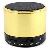 KONARRK SoundTube Portable Bluetooth Mobile/Tablet Speaker  (Golden, 3 Channel)