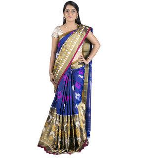 Sri Blue Silk