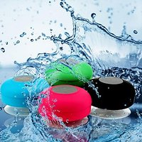 Portable WaterProof Shower Speaker With Suction Cup Mic