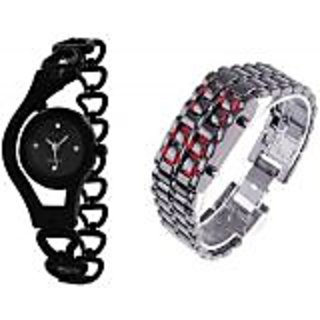 TRUE COLORS FUTURE GANERATION COMBO HOT SELLING COMBO Analog-Digital Watch - For Couple, Boys, Girls, Men, Women