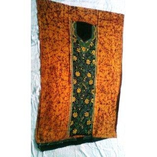 Kantha Stitch - Batik Print Kurti/Top Piece
