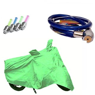 Sai Trading Body cover with mirror pocket Water resistant for Yamaha FZ-S V2.0+ Free (LED Light + Helmet Safety Lock) Worth Rs 250