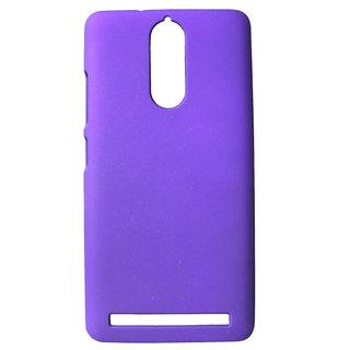 For Lenovo Vibe K5 Note Imported Matte Finish Hard Back Case Cover - PURPLE