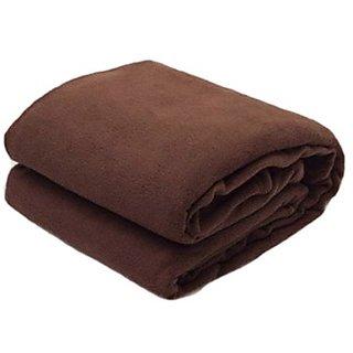 ff32355698 Buy Sns Brown Polar Fleece Blanket Online - Get 80% Off