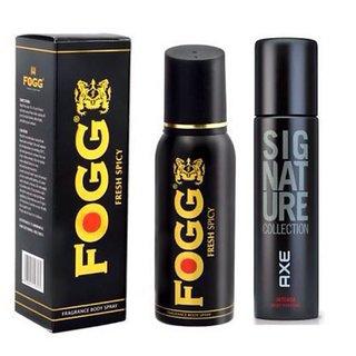 Axe signature intense  Fogg Deo combo (pack of 2)(120 ml each)