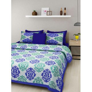 100 cotton double bedsheet