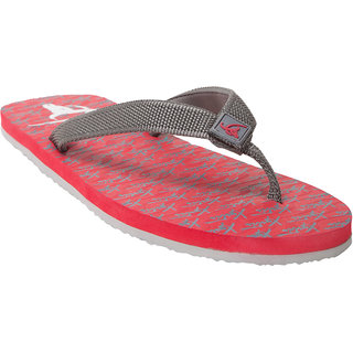 a081906c116f Buy Xystis Red and Grey Flip flops Online   ₹299 from ShopClues