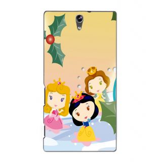 Instyler Digital Printed 3D Back Cover For Sony Xperia C5 Dual