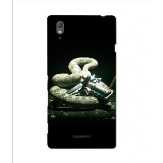 Instyler Digital Printed 3D Back Cover For Sony Xperia T3
