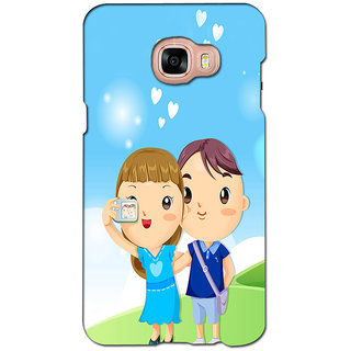 instyler PREMIUM DIGITAL PRINTED 3D BACK COVER FOR SAMSUNG GALAXY C7 3DSGC7DS-10047
