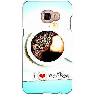 instyler PREMIUM DIGITAL PRINTED 3D BACK COVER FOR SAMSUNG GALAXY C7 3DSGC7DS-10057