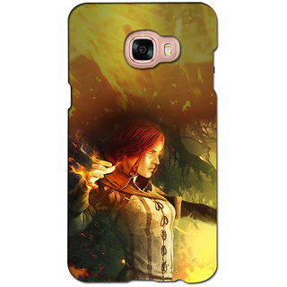 instyler PREMIUM DIGITAL PRINTED 3D BACK COVER FOR SAMSUNG GALAXY C5 3DSGC5DS-10485
