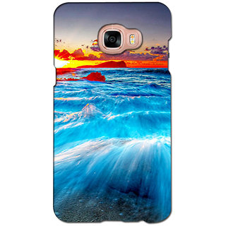 instyler PREMIUM DIGITAL PRINTED 3D BACK COVER FOR SAMSUNG GALAXY C5 3DSGC5DS-10534