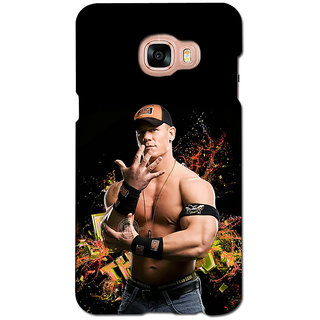 instyler PREMIUM DIGITAL PRINTED 3D BACK COVER FOR SAMSUNG GALAXY C7 3DSGC7DS-10727