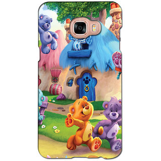 instyler PREMIUM DIGITAL PRINTED 3D BACK COVER FOR SAMSUNG GALAXY C5 3DSGC5DS-10897
