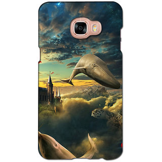 instyler PREMIUM DIGITAL PRINTED 3D BACK COVER FOR SAMSUNG GALAXY C5 3DSGC5DS-10920