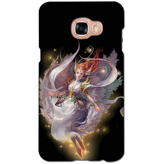 instyler PREMIUM DIGITAL PRINTED 3D BACK COVER FOR SAMSUNG GALAXY C5 3DSGC5DS-10954