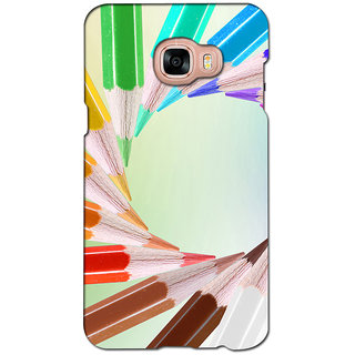 instyler PREMIUM DIGITAL PRINTED 3D BACK COVER FOR SAMSUNG GALAXY C5 3DSGC5DS-10957