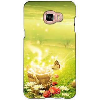 instyler PREMIUM DIGITAL PRINTED 3D BACK COVER FOR SAMSUNG GALAXY C7 3DSGC7DS-10488