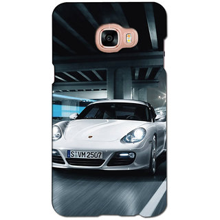 instyler PREMIUM DIGITAL PRINTED 3D BACK COVER FOR SAMSUNG GALAXY C5 3DSGC5DS-10571