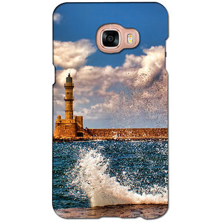instyler PREMIUM DIGITAL PRINTED 3D BACK COVER FOR SAMSUNG GALAXY C5 3DSGC5DS-10607