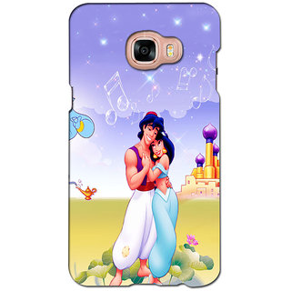 instyler PREMIUM DIGITAL PRINTED 3D BACK COVER FOR SAMSUNG GALAXY C7 3DSGC7DS-10788