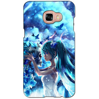 instyler PREMIUM DIGITAL PRINTED 3D BACK COVER FOR SAMSUNG GALAXY C7 3DSGC7DS-10987