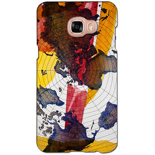 instyler PREMIUM DIGITAL PRINTED 3D BACK COVER FOR SAMSUNG GALAXY C5 3DSGC5DS-10993