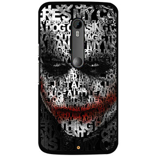 DIGITAL PRINTED BACK COVER FOR MOTO X PLAY MOTOXPLAYDS-12244