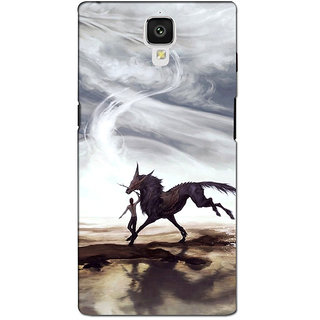 instyler PREMIUM DIGITAL PRINTED 3D BACK COVER FOR ONE PLUS 3 3D1PLUS3DS-10476