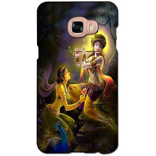 instyler PREMIUM DIGITAL PRINTED 3D BACK COVER FOR SAMSUNG GALAXY C5 3DSGC5DS-10785