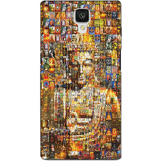 instyler PREMIUM DIGITAL PRINTED 3D BACK COVER FOR ONE PLUS 3 3D1PLUS3DS-10506